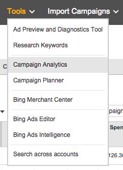 Bing Campaign Analytics